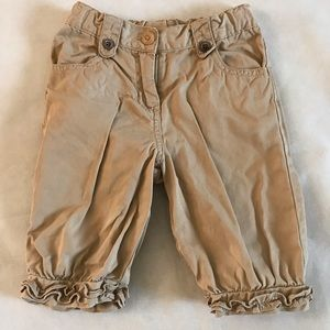 Janie and Jack World's Fair 3T Brown Knickers